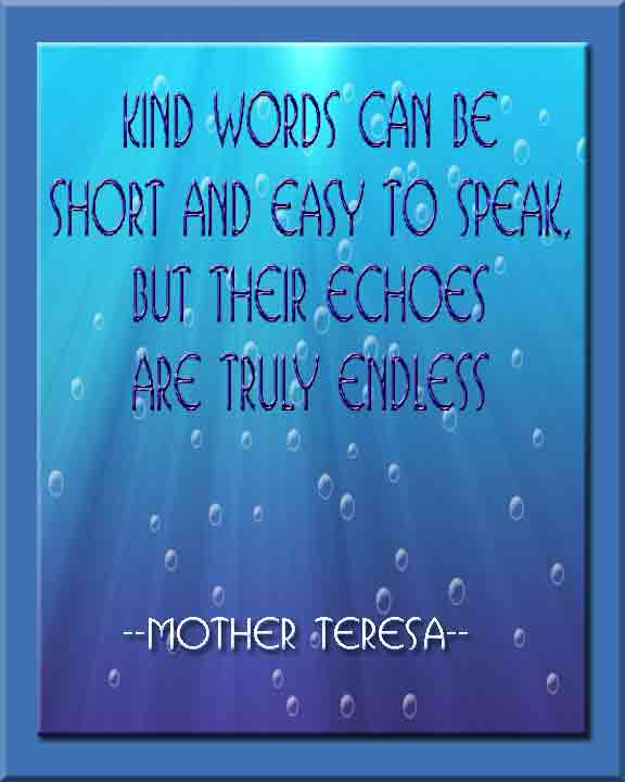 Repair With Kind Words