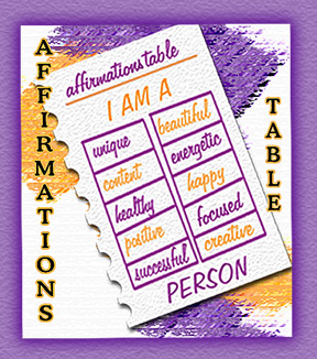 affirmation-table